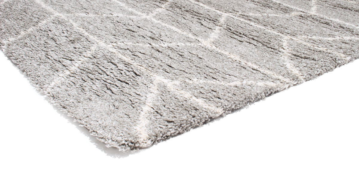 5' X 8' Area Rug In Light Grey MIS014493