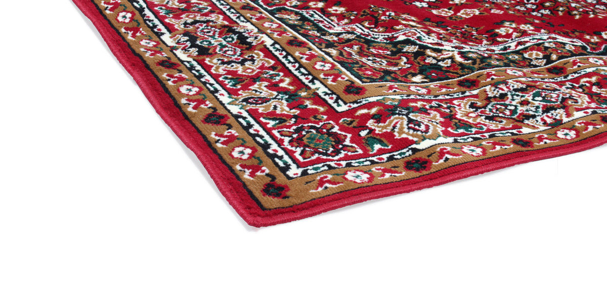 5' X 8' Oriental Area Rug In Red MIS014497