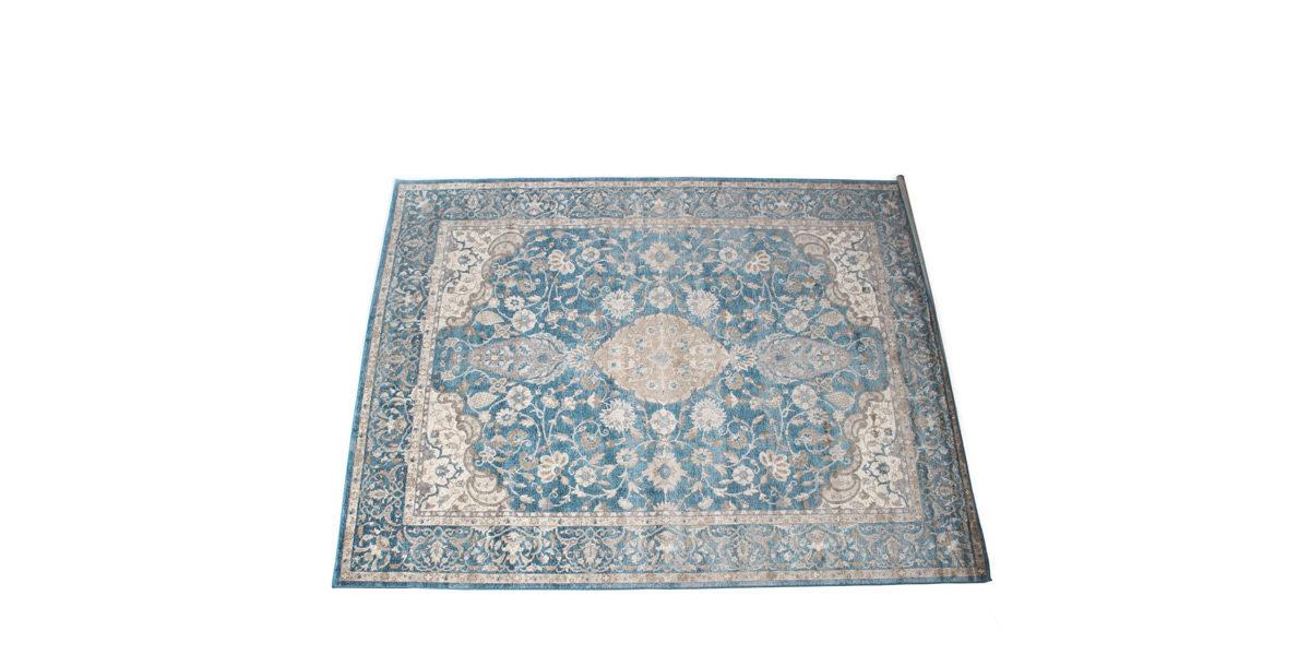 8' X 10' Area Rug In Blue / Beige MIS014499