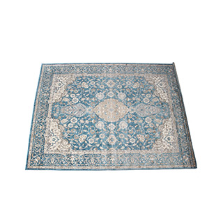 8' X 10' Area Rug In Blue / Beige MIS014499
