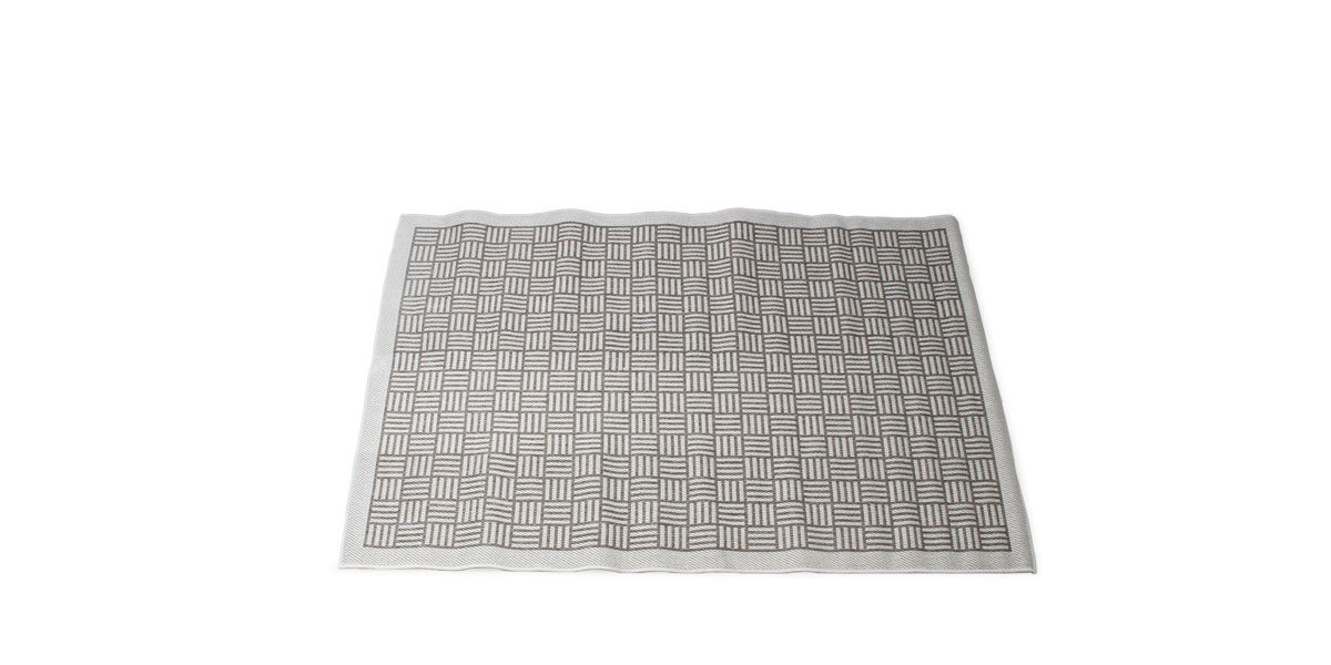 5' X 8' Area Rug In Grey MIS014500