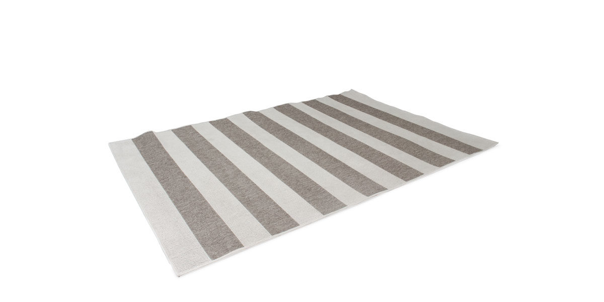 5' X 8' Area Rug In Brown / Silver MIS014502