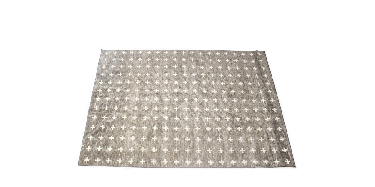 5' X 8' Area Rug In Grey MIS014505