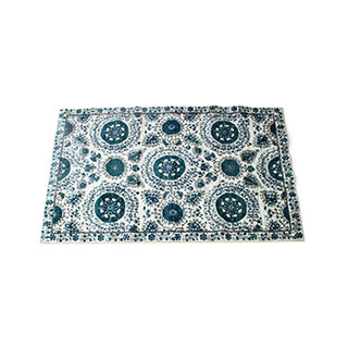 5' X 8' Area Rug In Ivory / Navy MIS014506