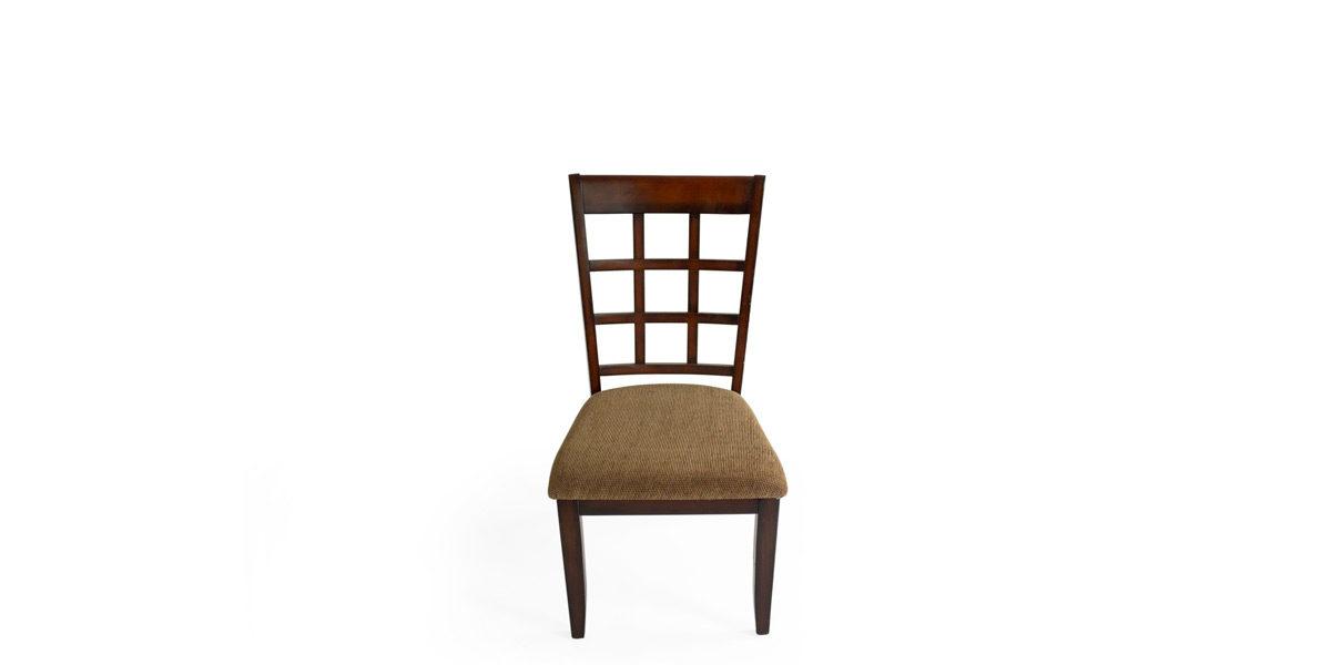 Armless Dark Walnut Chair CHR011821