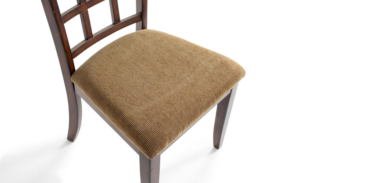 Armless Dark Walnut Chair CHR011821