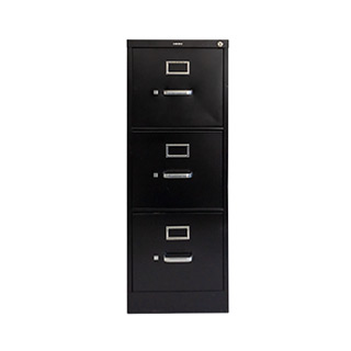 BlackVertical File Letter Size 3-Drawer FIL010727
