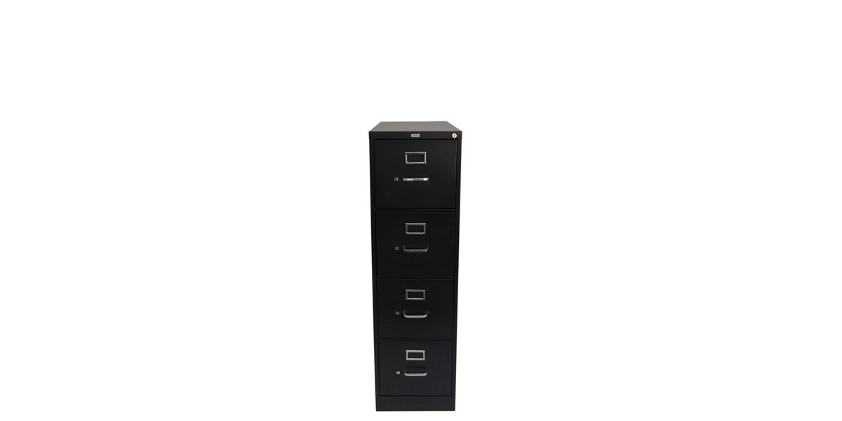 Charcoal Vertical File 4 Drawers In FIL013459
