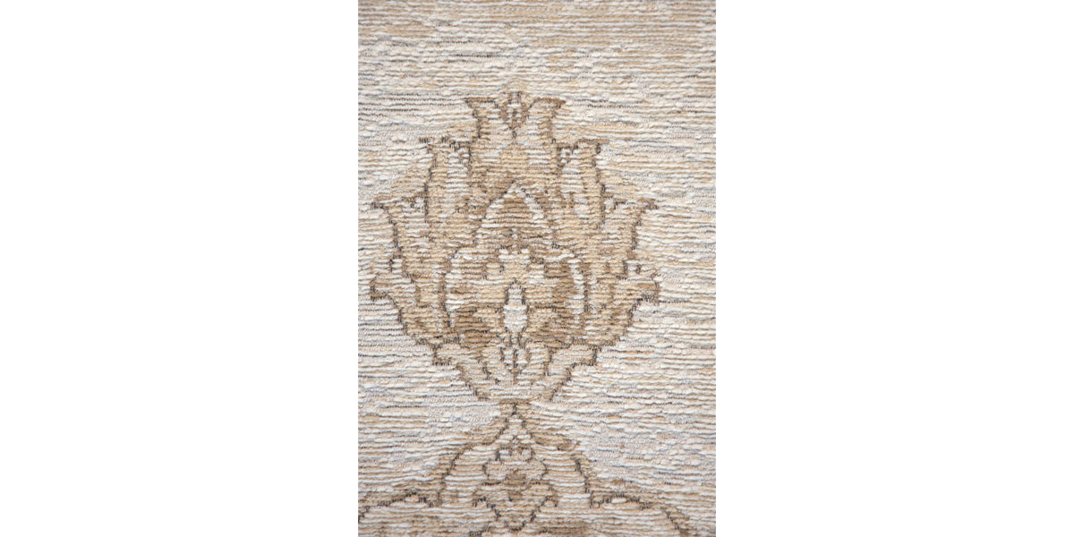 5' X 7' Sand Cotto/Wool Rug MIS014623