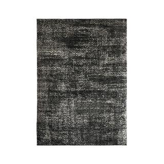 5' X 7' Black Jute Rug MIS014626