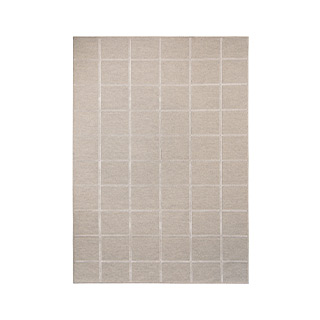 5' X 7' Beige Cotton Rug MIS014637