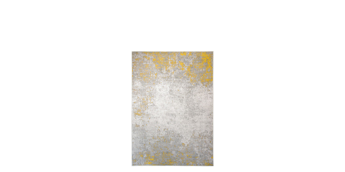5' X 7' Indian Yellow Rug MIS014640