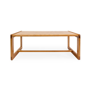 "42""w x 20.5""d x 16""h Coffee Table Medium Oak TBL014508"