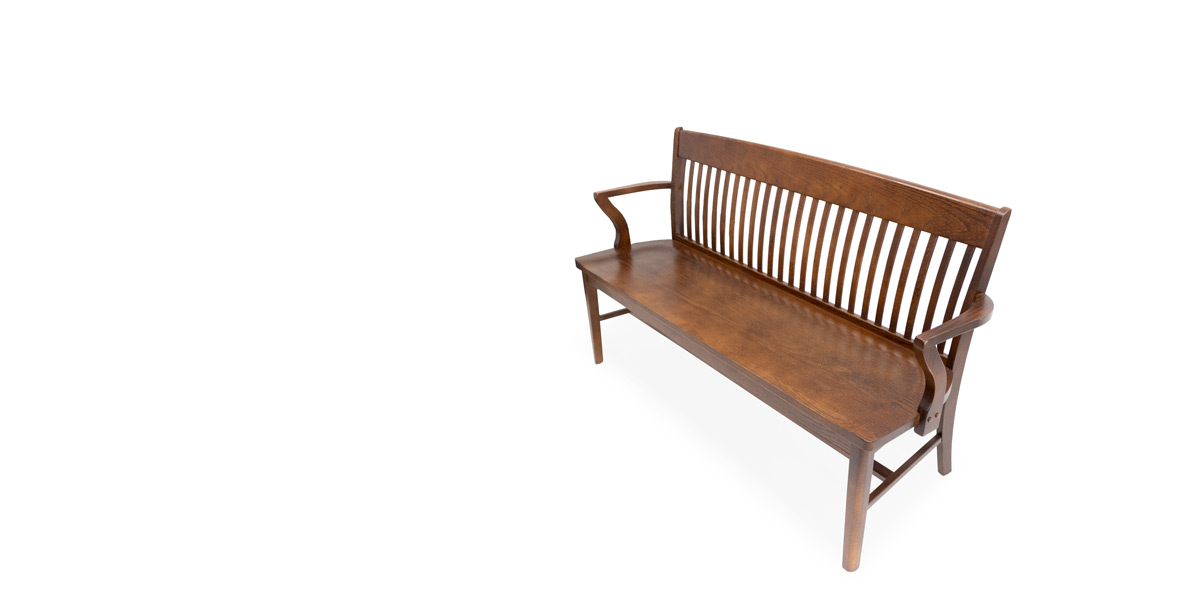 "63""W Americana Wide Bench BEN014532"