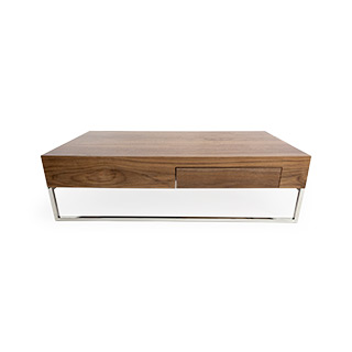 "13""H X 47.2""L X 27.5""W Walnut Coffee Table TBL014606"