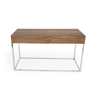 "30""H X 53""W X 15.7""D Walnut Console Table TBL014607"