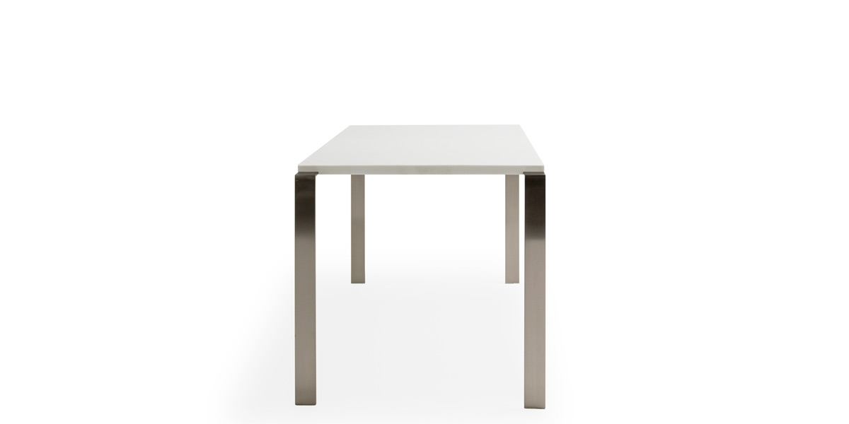 "24"" X 26.25"" X 22.5"" White Laminate End Table TBL014657"