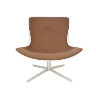 Lounge Chair White Fiberglass Shell CHR014695