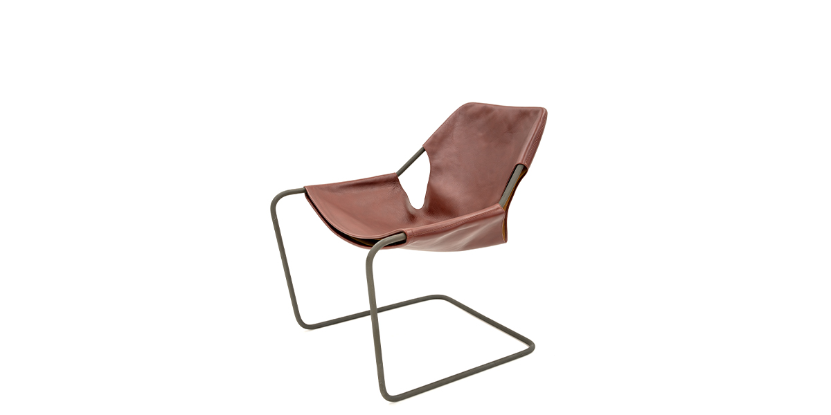 Paulistano Leather Lounge Chair CHR014777