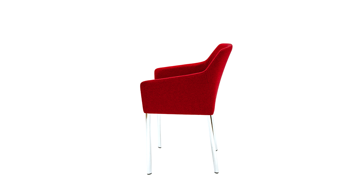 Burgundy Arm Chair CHR014778