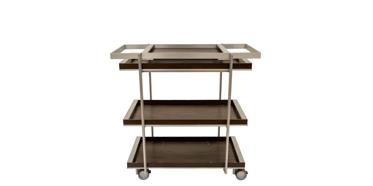 Serving Cart with Removable Tray MIS014789