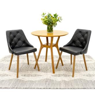 36″dia Maple Round Café Table TBL002362