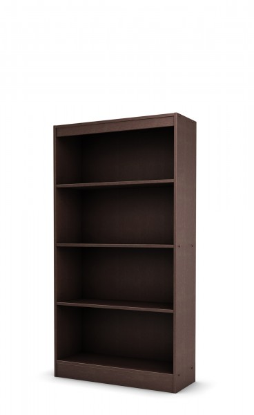 36''w x 72''h Walnut Veneer Bookcase BKC012466