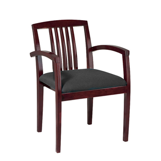 Black Fabric Guest Chair CHR009252