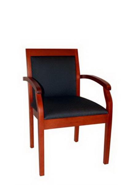 Black Fabric Guest Chair CHR009945