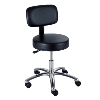 Black Vinyl Task Chair CHR012063