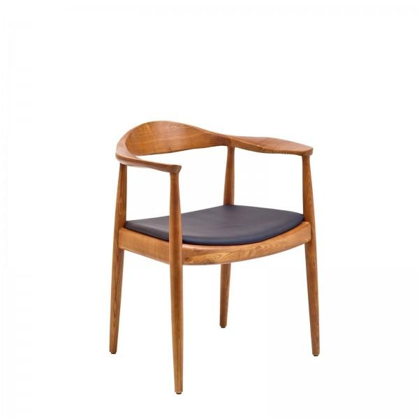 Walnut Modern Guest Chair CHR012595