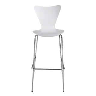 Matte White Jacobson Bar Stool CHR012599