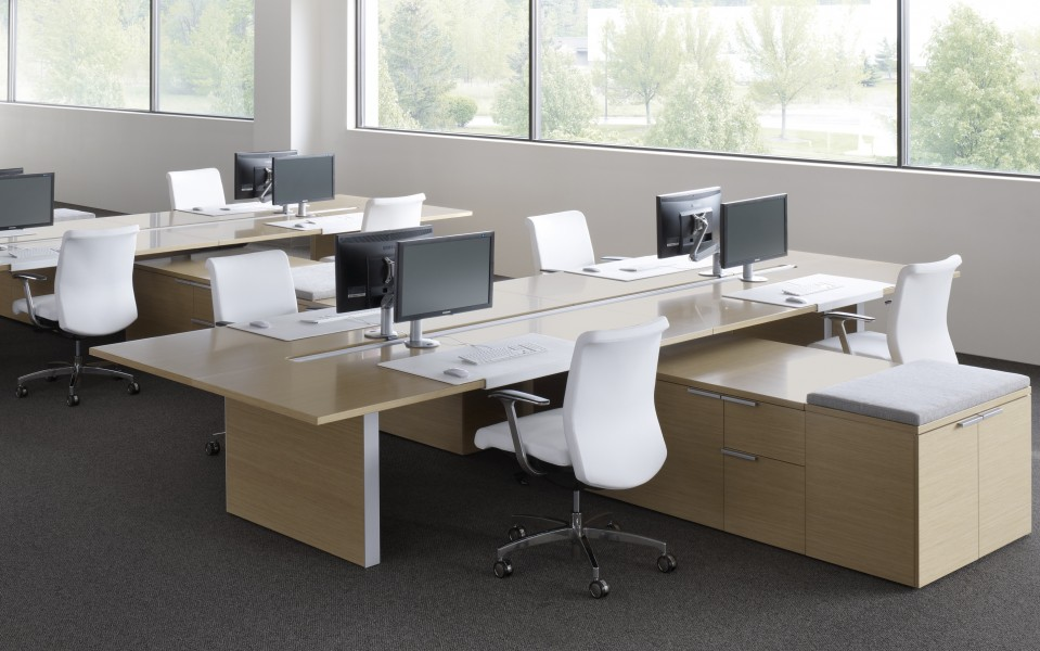 Silea Open Office on Furniture Office Cubicle Designs