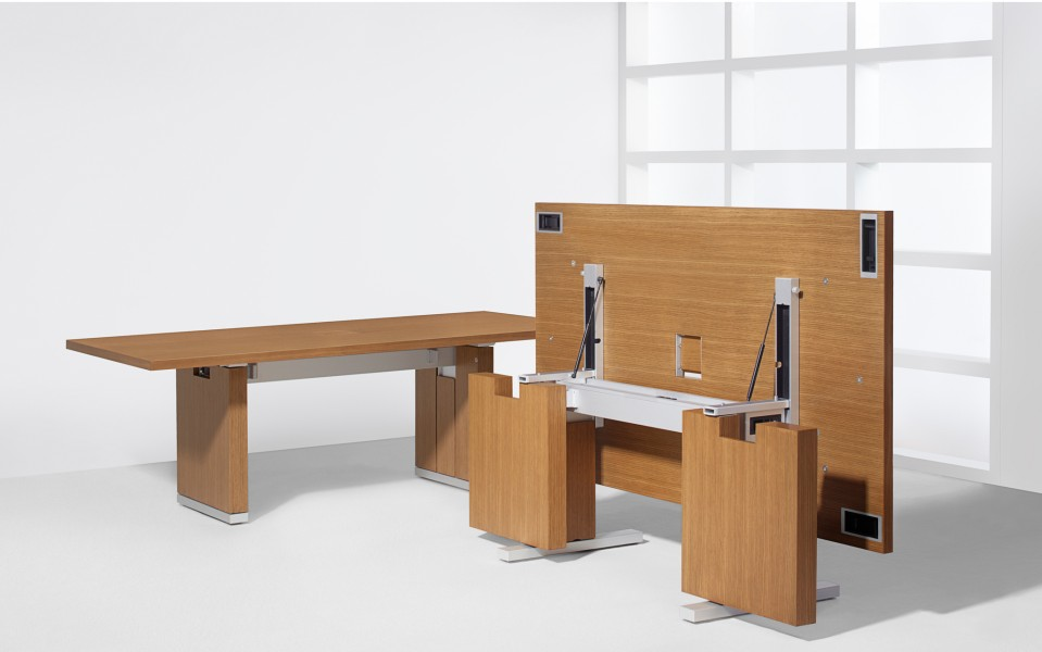 Motus Folding Conference Table Arenson Office Furnishings - Fold away conference table