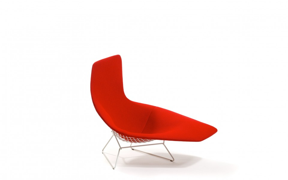 Bertoia asymmetric chaise arenson office furnishings - Chaise bertoia knoll ...