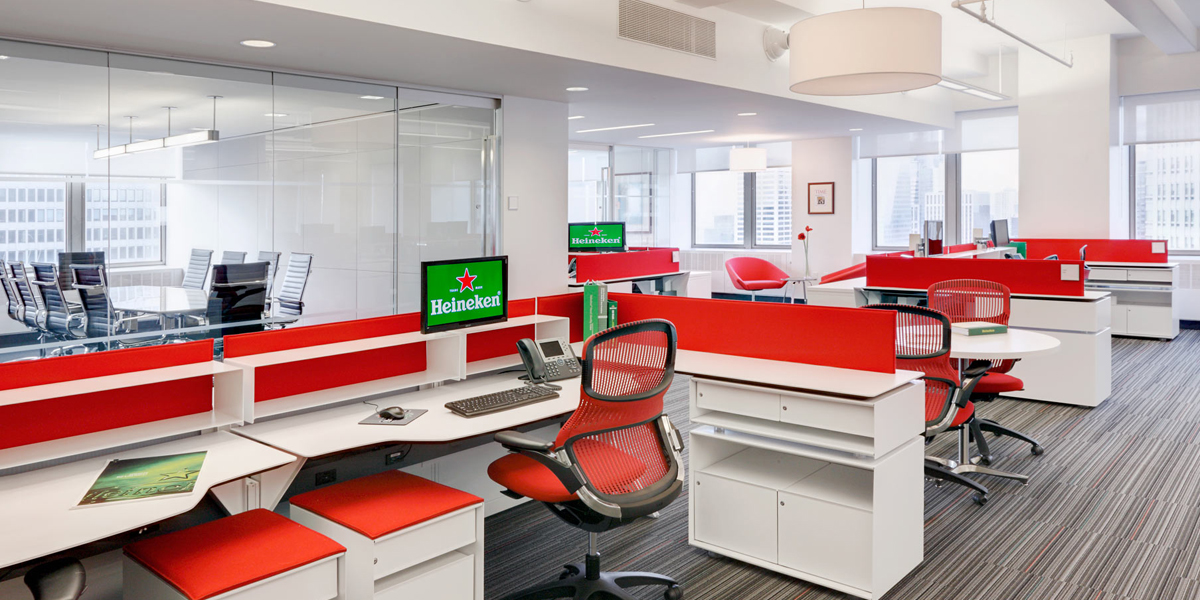 Heineken Usa Arenson Office Furnishings