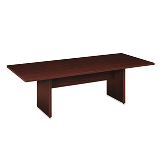"96""w x 30""d Mahogany Conference Table TBL008814"
