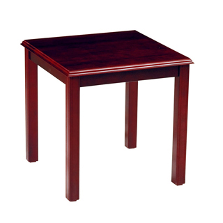 20''w x 20''d Mahogany End Table TBL009253